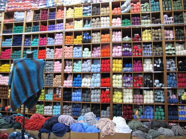 magasin laine à milan