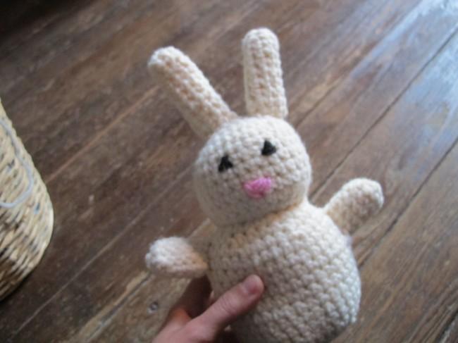 comment tricoter des oreilles de lapin
