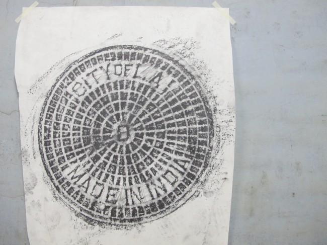 cyprien gaillard fondazione trussardi gates plaques milan