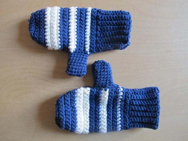DIY moufles crochet gants tuto tricot