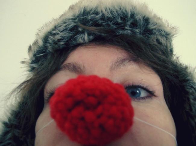 diy nez rouge