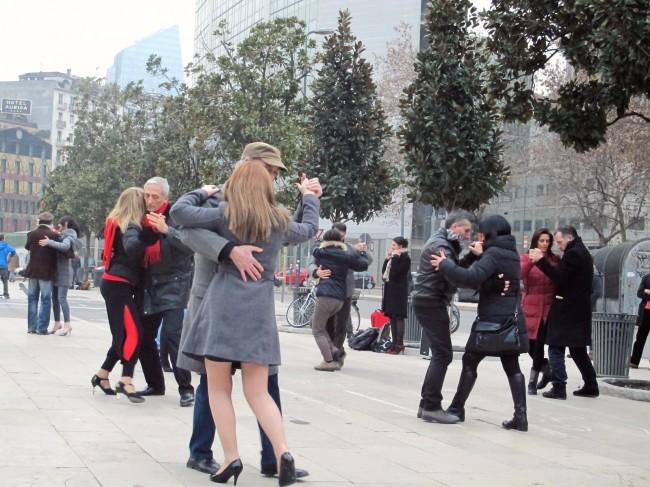flashmob tango milan