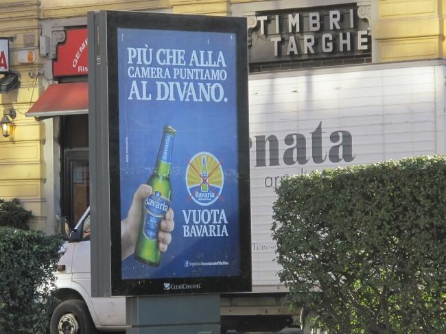 publicité bière éléctions