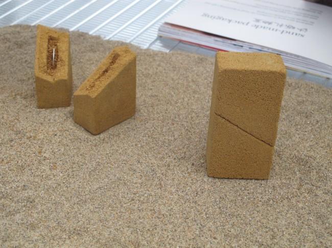 objets en sable design milan