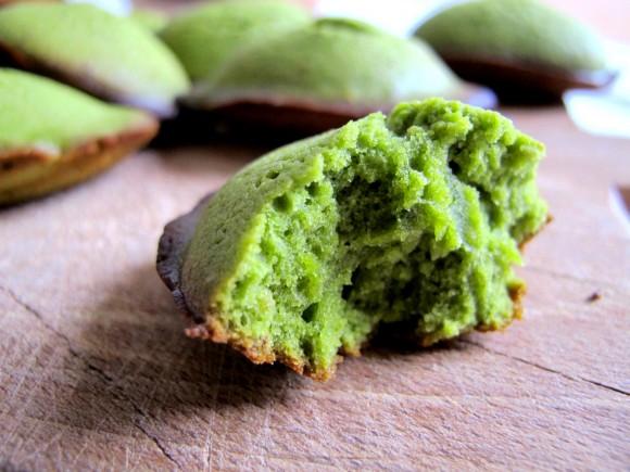 madeleines au thé vert