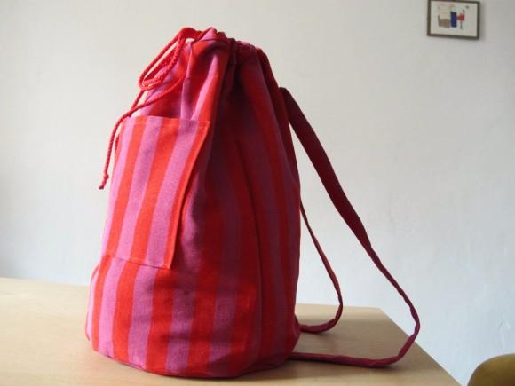 Assez DIY sac à dos rayé pour faire venir l'été | completementflou HI18
