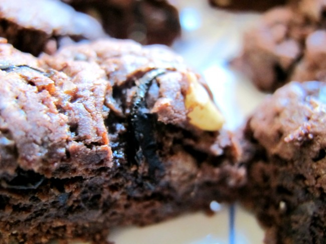 chocolate olive cookies