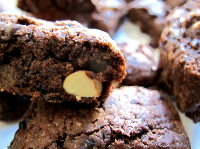 biscotti cioccolato olive nere