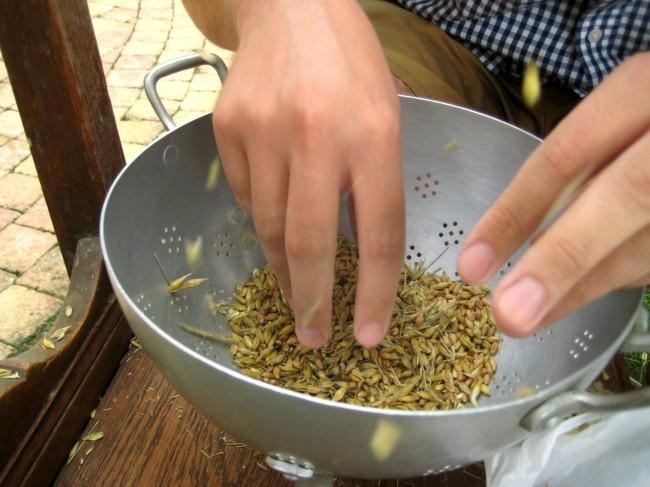 how to make flour