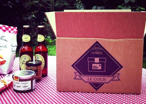 colis produits français