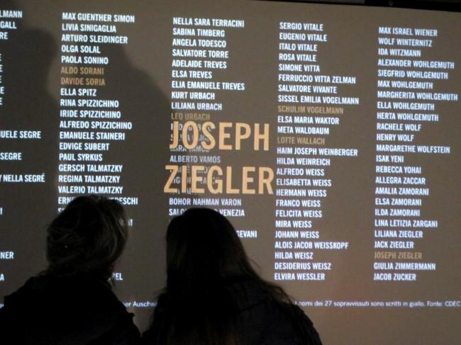 memorial shoah milan