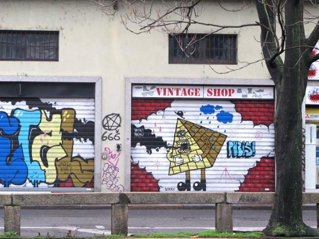 vintage shop milan