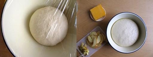 recette pain cheddar pomme