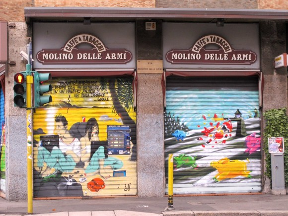 stores peints milan