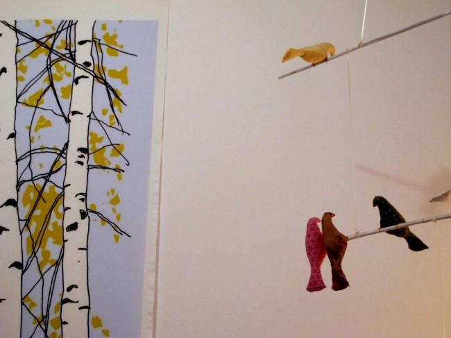 inspiration déco mobile oiseaux