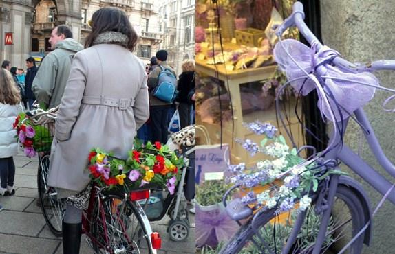 fleurir son vélo DIY