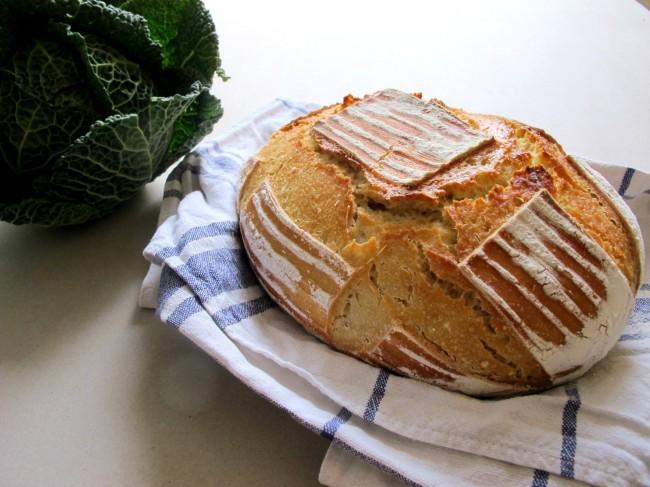 pain au levain sans machine