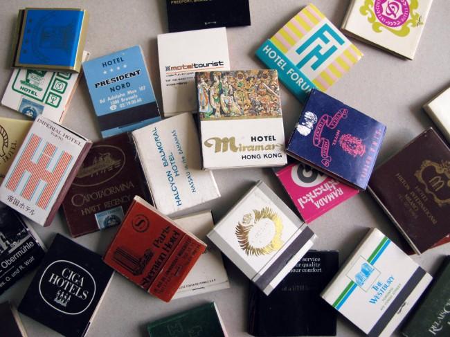 collection boites d'alumettes vintage