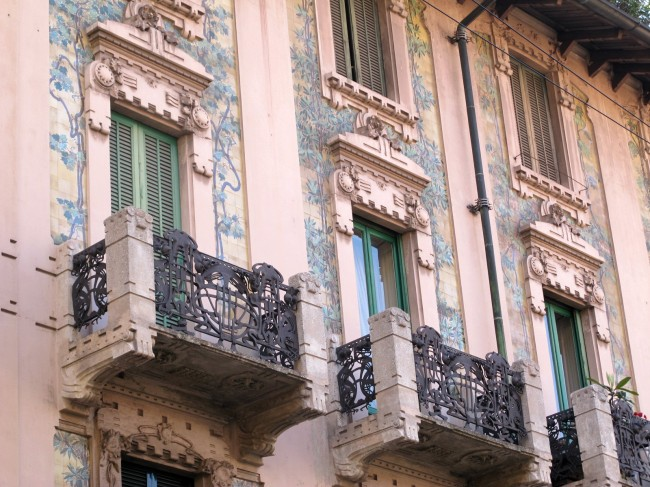 art nouveau milan porta venezia