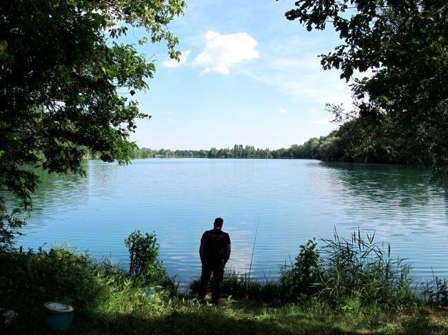 lago pesca boscaccio milano