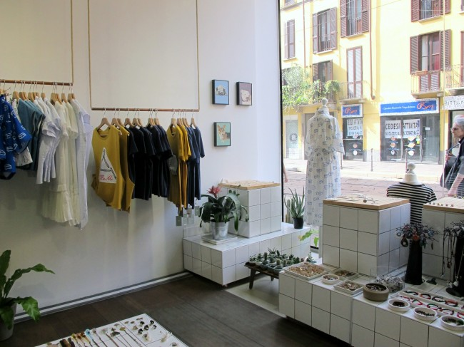 boutique créateur milan