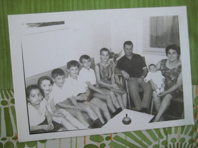 photo de famille italie