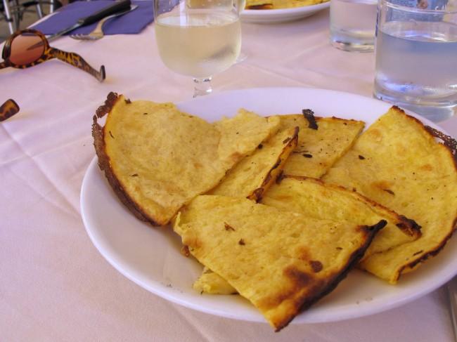 spécialité italienne liguria pois chiche