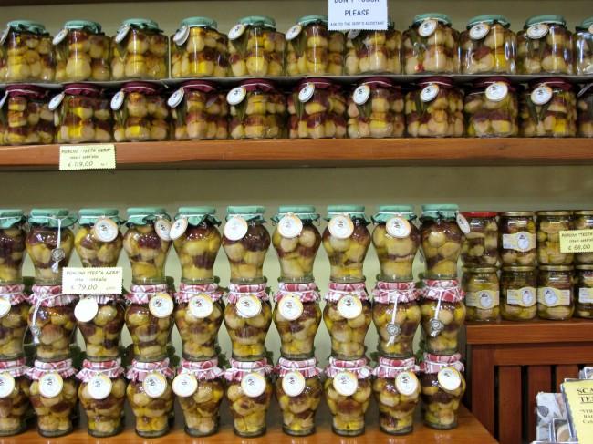 champignons truffes milan