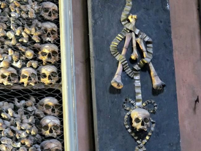 visite chapelle ossuaire milan