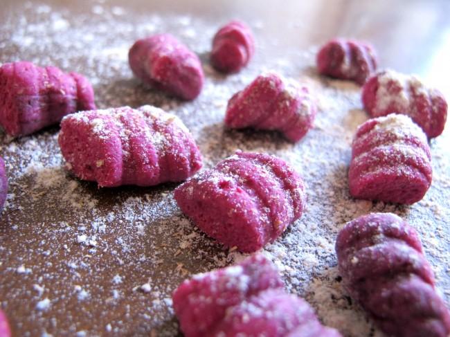 gnocchi roses maison