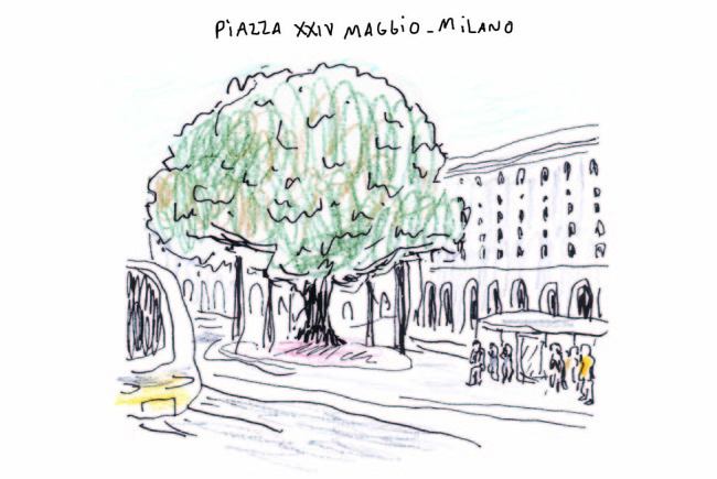 milan piazza XXIV maggio