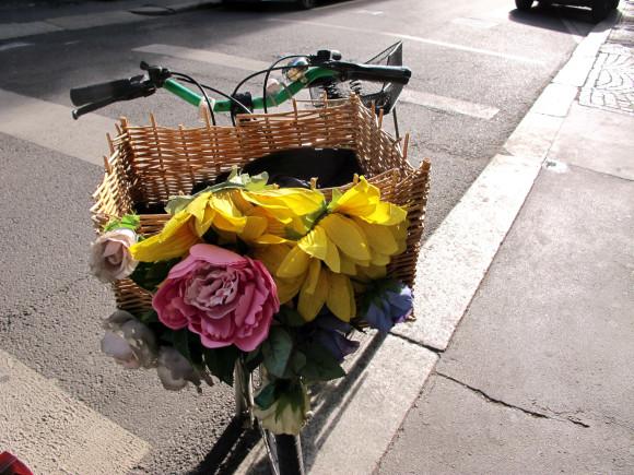vélos fleuris milan