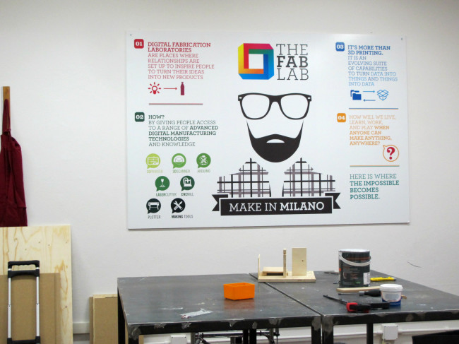 the FabLab milano