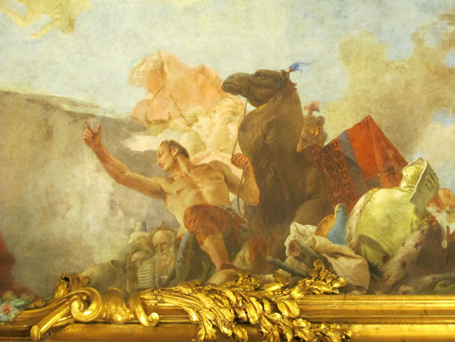 fresques de tiepolo palais clerici
