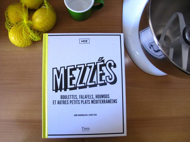 mezzé livre cuisine