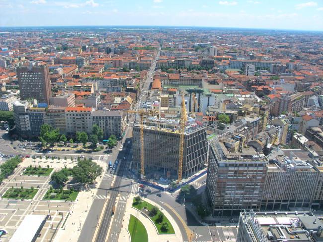 panorama milano palazzo pirelli