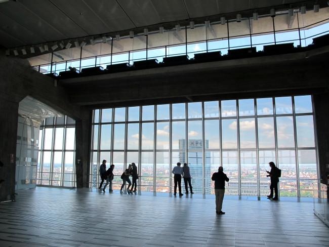 belvedere palazzo pirelli milano