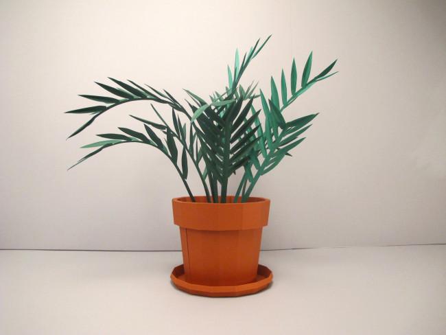 papercut DIY plante