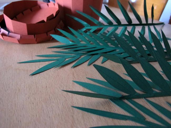 papercut plant diy