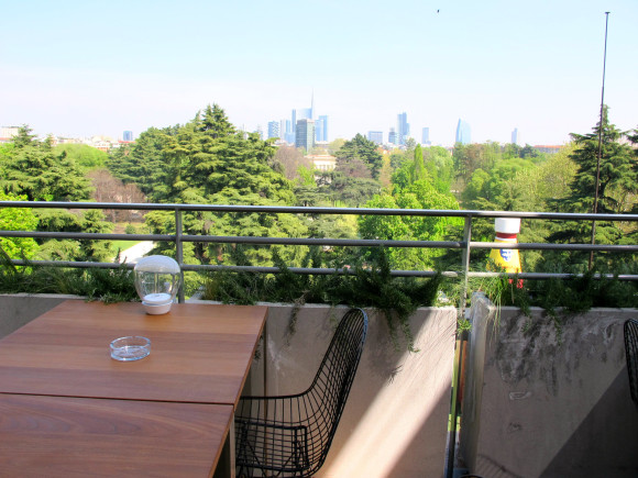 vue terrasse triennale