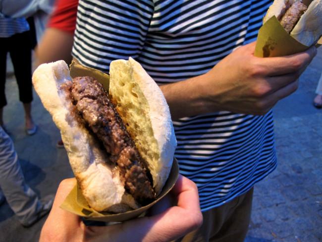 mangiari di strada panino milano