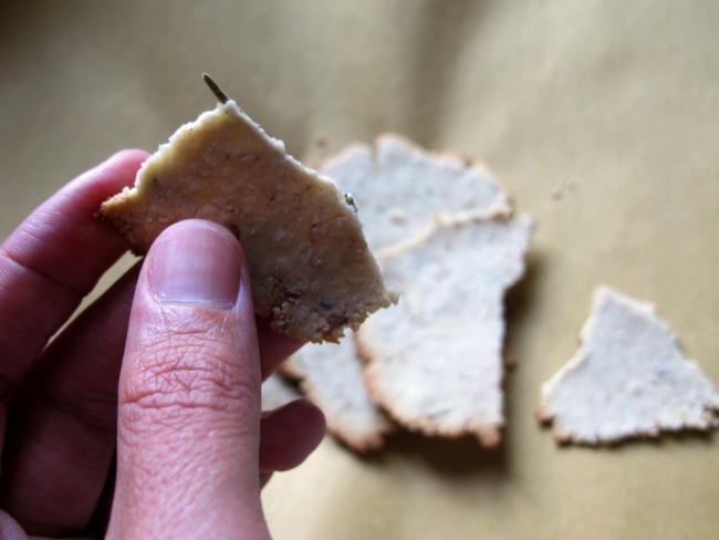 crackers apéro sans gluten