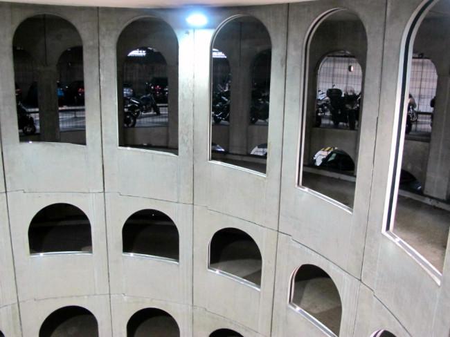parking souterrain celestins lyon daniel buren