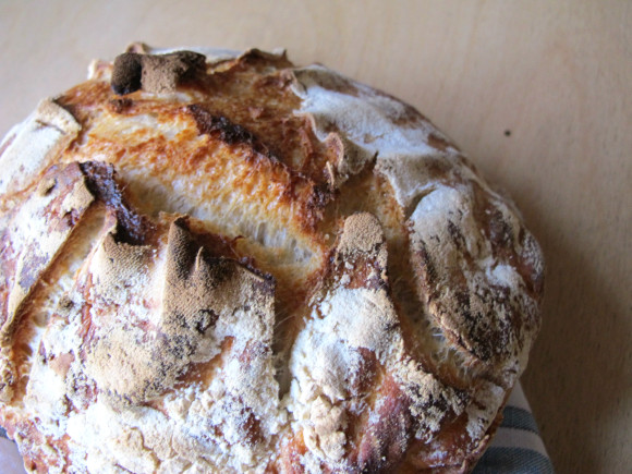 recette pain au levain
