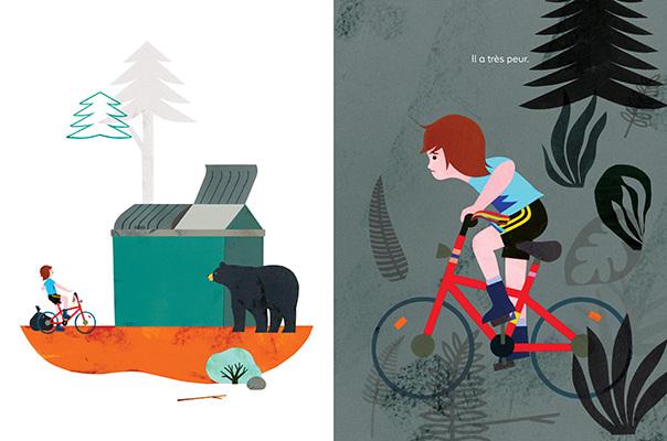 livre jeunesse ours poubelle