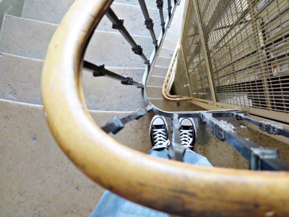 cage d'escalier lyon