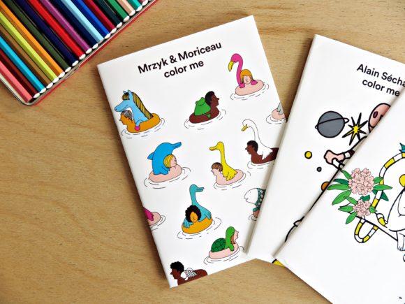 livre coloriage arty