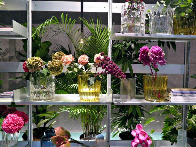 flower market elle decor