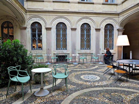 open bar palazzo morando milano