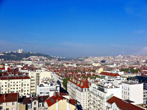 lyon vue d'en haut barre Zumbrunnen